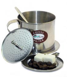 Long Cam, вьетнам, вьетнамский кофе, кафефин, кофе, пресс-фильтр